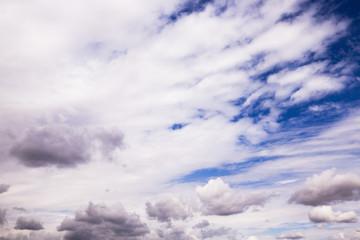 cloudy sky, close up