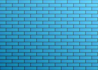 Gradient Dark Blue Texture Pattern Background Stretcher Bond Brick Style Wallpaper Illustration