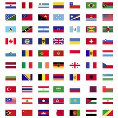 Flags of world countries