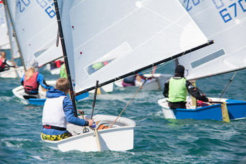 Photo sur Plexiglas Voile sailing regatta