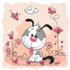 Cute cartoon Puppy