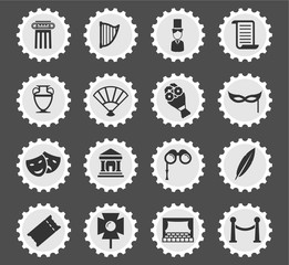 Theatre simply icons