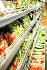 Vegetables in the fridge