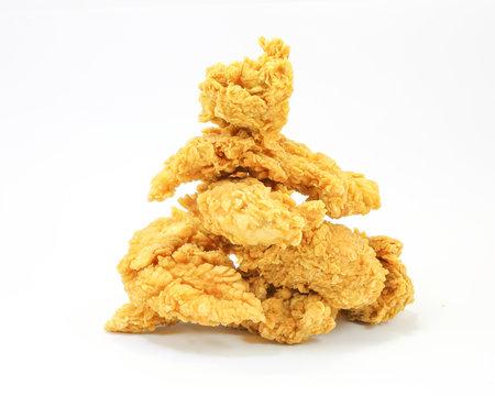 Deep fried chicken tenders