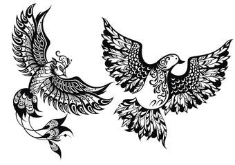 Birds symbols