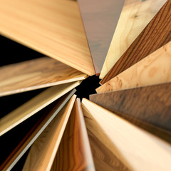 Different kinds of wood