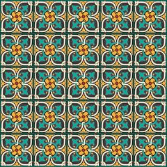 Traditional royal mosaic decoration