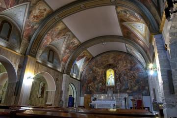 Interno della chiesa di santa Maria maggiore di Campobasso