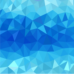 Sea-green low poly vector  background