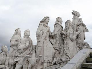 symbol, Cerro de los Angeles in Getafe, Madrid. monument inaugur