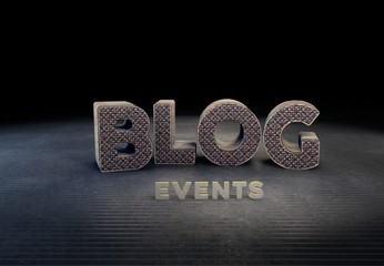 Blog, Events, 3D Typography