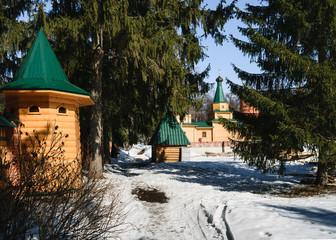 Alexander Nevsky Orthodox monastery Chuvashia, Russia.
