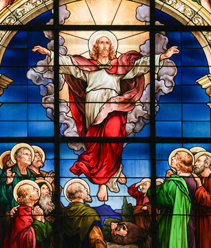 Ascension of Christ - Stained Glass