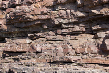Close-up of Rock Strata