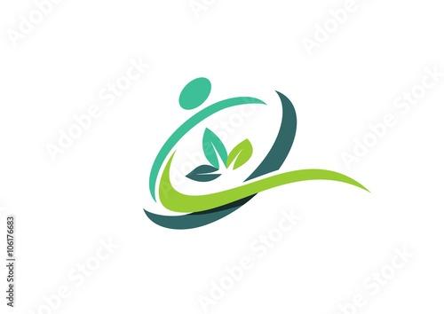 circle people wellness logo health nature spa symbol icon vector rh fotolia com health and wellness design awards