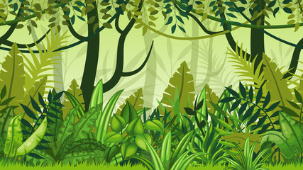 Photos illustrations et vid os de jungle - Dschungel malen ...