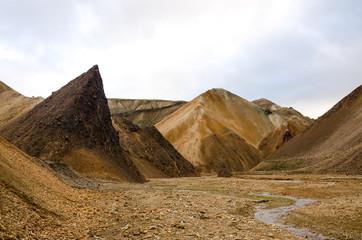 Rhyolite mountains at Landmannalaugar, Iceland
