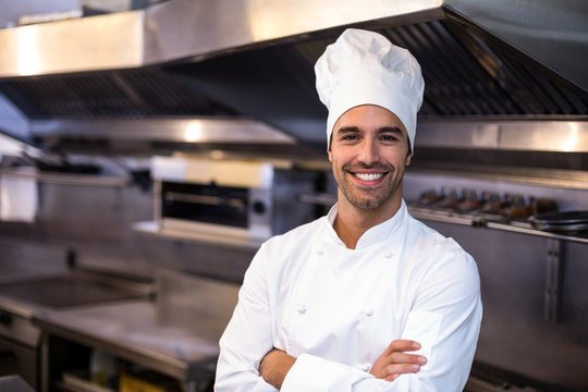 Portrait of handsome chef