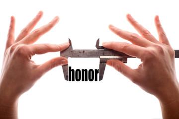 Less honor metaphor