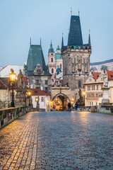 Prague, Charles Bridge and old Town