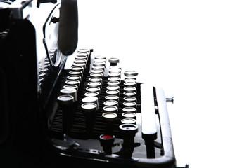close up of Old Vintage Typewriter