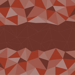 Red Mosaic Background, Vector illustration, Creative Business Design Templates