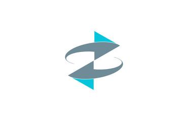 double arrow connection logo