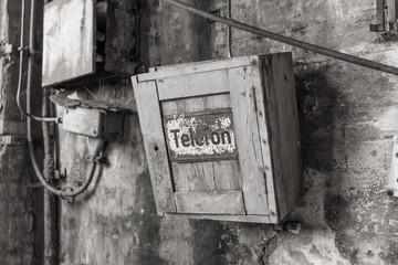Telefonkasten im Kraftwerk