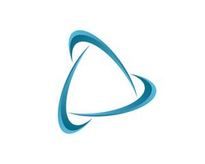 Swoosh Trinity Logo