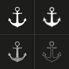Anchor - vector icon.