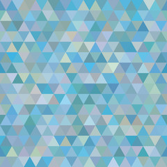 abstract seamless sample of the repeating triangles of elements.