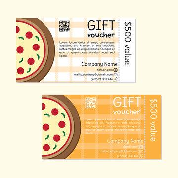 Gift Voucher Pizza 500