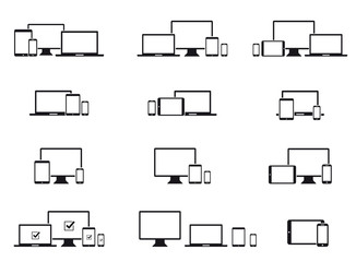 Pictogrammes Multi-écrans