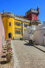 Fotomurales - Pena National Palace. Palacio Nacional da Pena, Sintra, Portugal