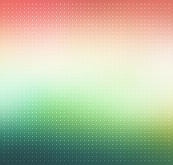 Pink and green gradient. Dotted vector background