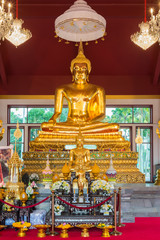 Beautiful golden Buddha
