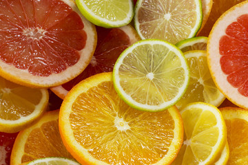 background of citrus