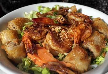 Bo bun aux crevettes