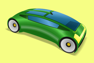 futuristic design vehicle, future automobile, concept car, vector illustration