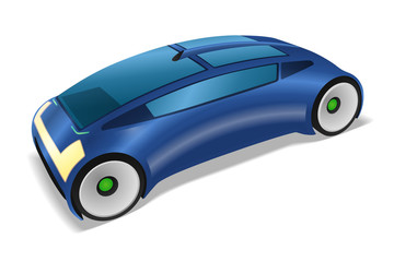 futuristic design vehicle, future automobile, concept car, vector illustration