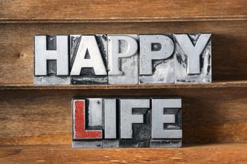 happy life tray