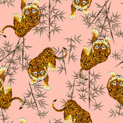 日本的な虎パターン