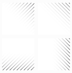 Abstract background in black and white colors