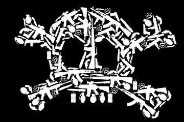 Tête de mort - Armes