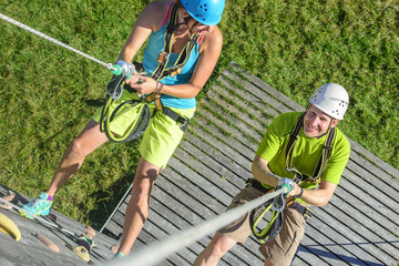 Funsport Abseiling