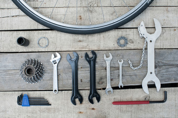 Essential tools bike