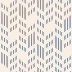 Abstract Seamless Geometric Vector Chevron Pattern. Mesh backgro