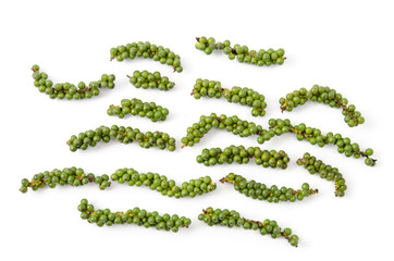Frische grüne Pfefferrispen