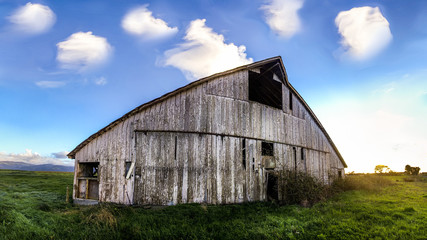 Old Barn Landscape