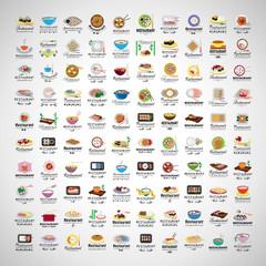 Sushi Icons Set - Vector Illustration